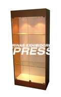 Vitrinas monterrey vitrinas comerciales vitrinas - Vitrinas de madera y vidrio ...